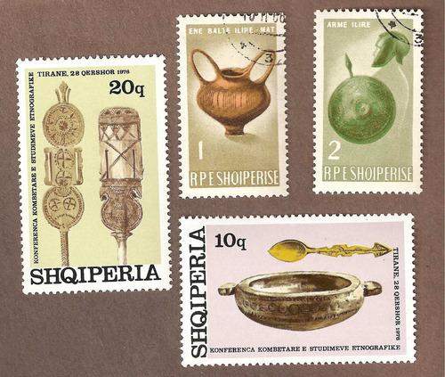 albania artesanias  1966 y 1976