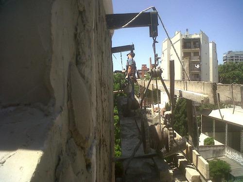 albañileria pintura trab. en altura con balancines y silleta