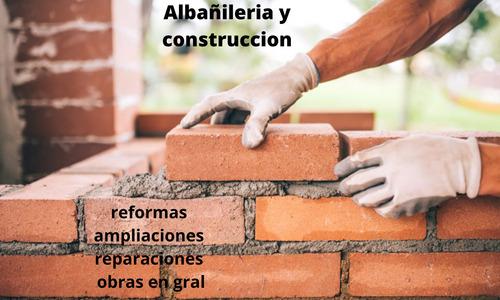 albañilería y construcción remodelar refacciones generales