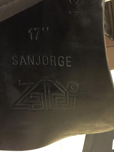 albardón español marca zaldi 17' modelo san jorge