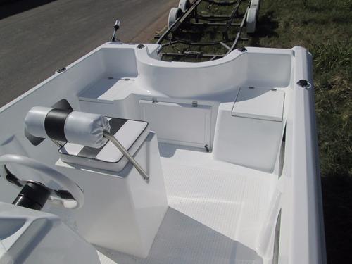 albatros 530 standart lancha tracker matrizada financiala