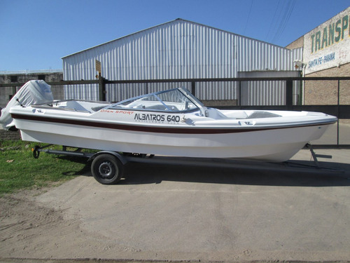 albatros 640 open lancha tracker  sport matrizada financiala