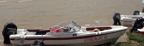 albatros 640 open sport con motor mercury 75 completa usada