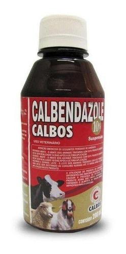 albendazol 10% calbendazole x 200 ml lab calbos