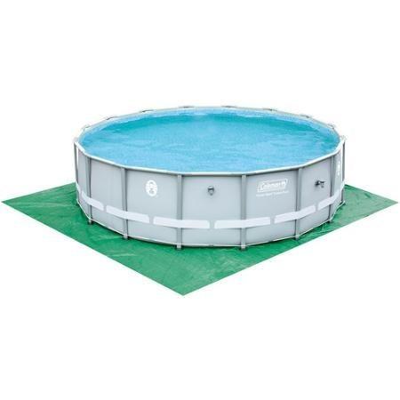 Alberca circular 5 4 x 1 2 mts estructura de acero coleman for Cuanto cuestan las albercas en walmart