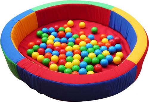 alberca de pelotas 125x20x10 con 100 pelotas. ¡envío gratis!