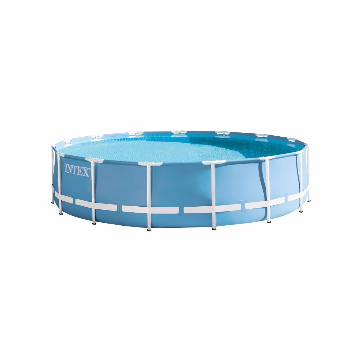Alberca estructural tubular intex m x m for Piscina estructural intex