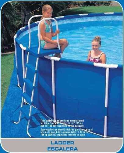 Alberca gigante piscina familiar intex con bomba x 1 for Piscinas estructurales