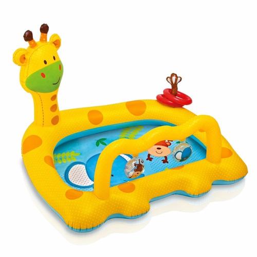 Alberca infantil inflable intex jirafa en mercado libre - Piscinas para bebes ...