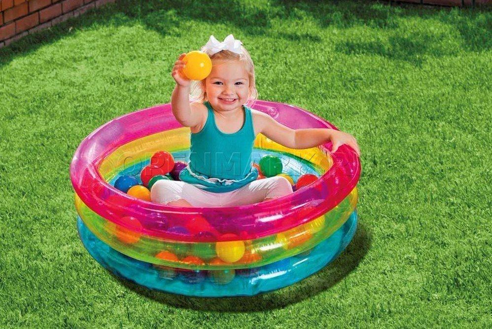 alberca inflable con 50 pelotas diversi n para bebes