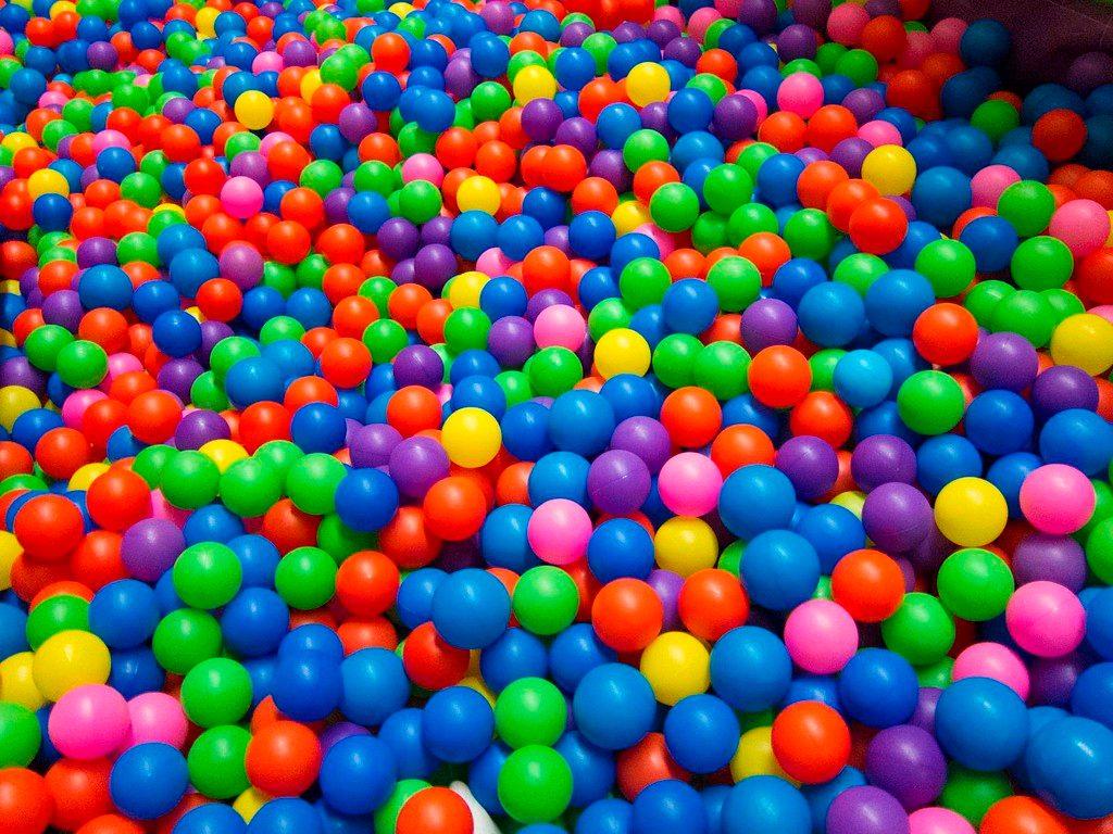 Alberca inflable con 50 pelotas diversi n para bebes for Albercas de plastico para ninos
