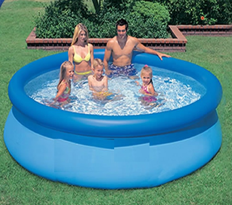 Alberca inflable easy set 10 39 x 30 2 en mercado for Hago piscinas