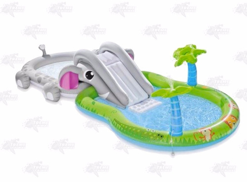 alberca inflable elefante playcenter xtreme