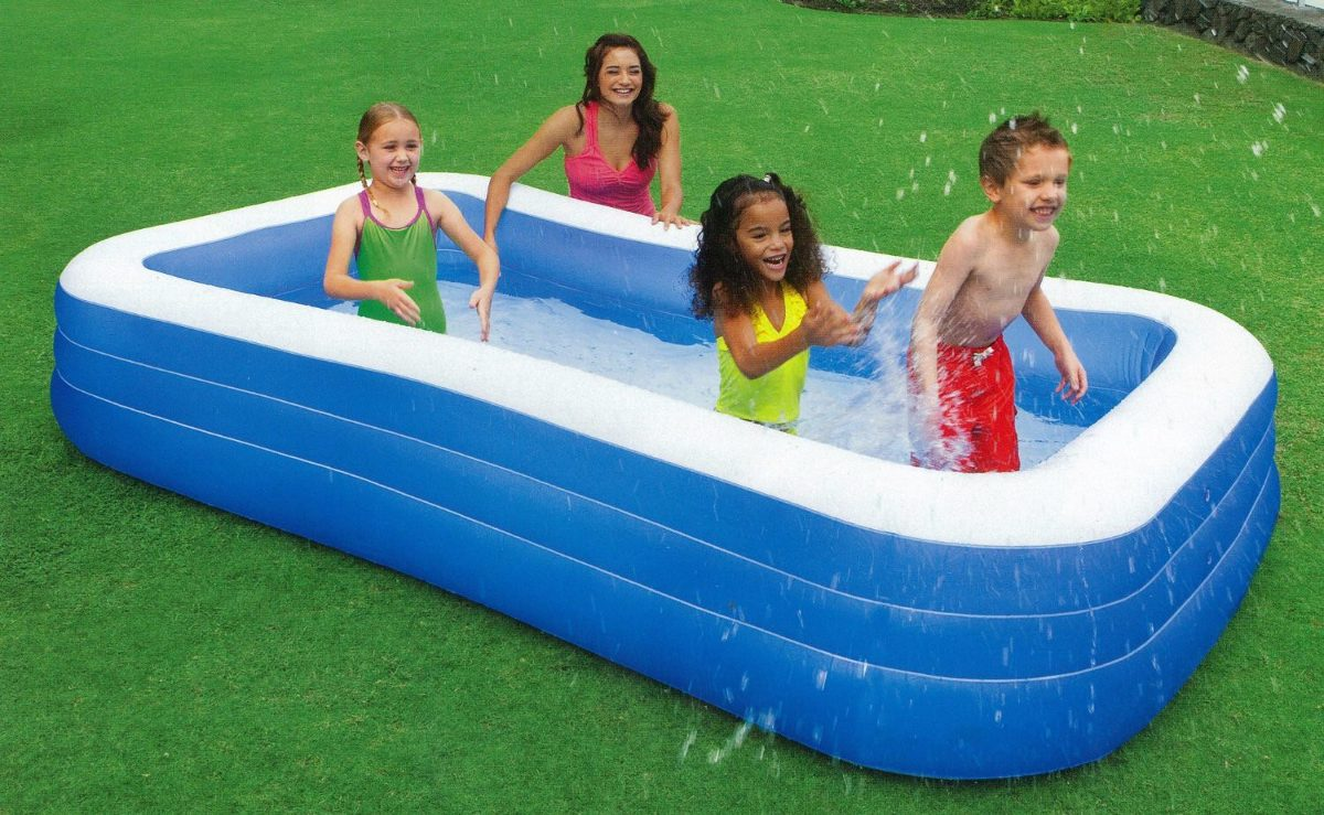 Alberca inflable familiar intex 305 x 183 x 56 cm 879 for Albercas intex precios