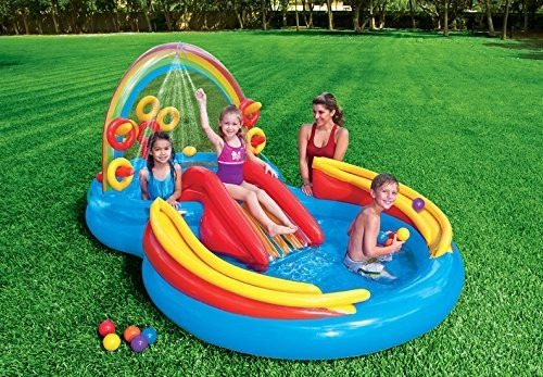 alberca inflable juego