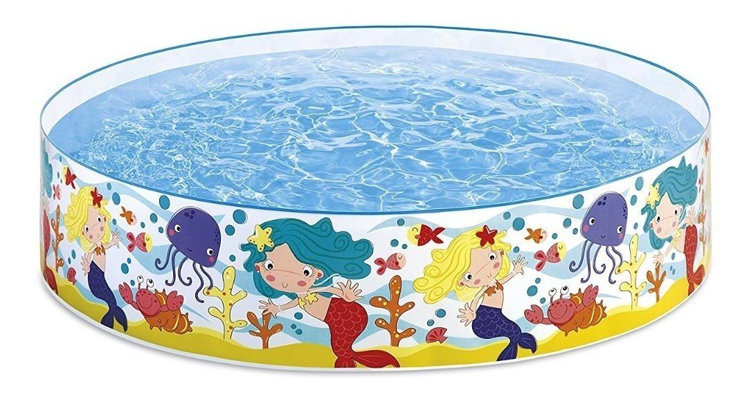 Alberca Para Jardin O Azotea Rigida Infantil Sirenas 459 00 En