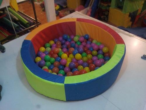 alberca para pelotas 120*40*10 + 200 pelotas + envio gratis