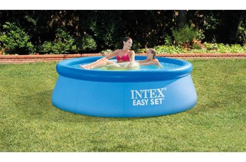 alberca piscina inflable easy set 2.4 met con bomba intex