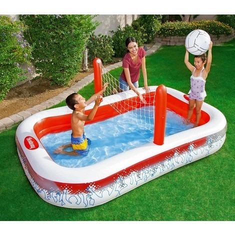 Alberca piscina inflable voleibol ni as ni os env o for Precios de piscinas inflables para ninos