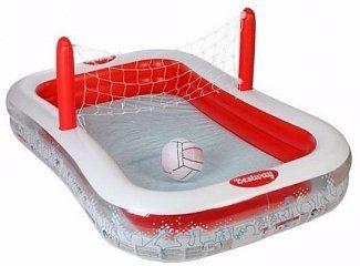 Alberca piscina inflable voleibol ni as ni os env o for Piscina inflable ninos