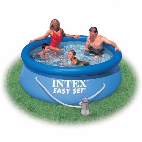 Alberca piscina intex m bomba filtrante cubierta for Cubierta piscina intex