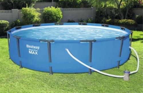 alberca piscina tubular bestway steel pro max 3.66 m x 1 m