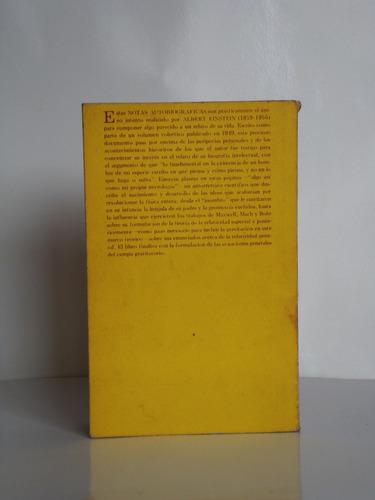 albert einstein - notas autobiográficas