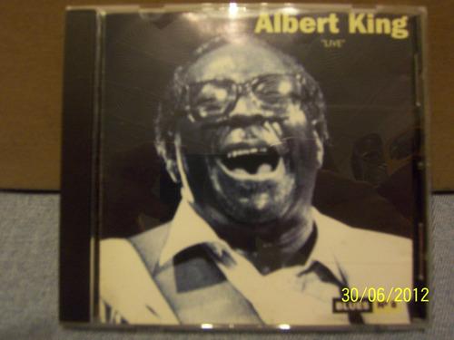 albert king - live - cd nuevo - original