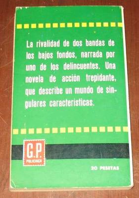 albert simon : el rebelde - novela policiaca acción 1964