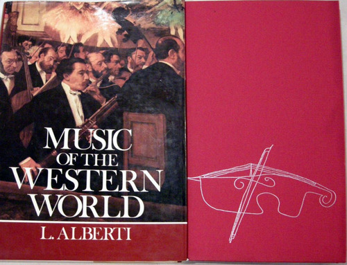 alberti music of the western world en ingles música no envio