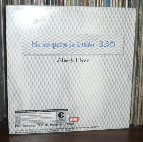 alberto plaza cd single no me quites la lusion