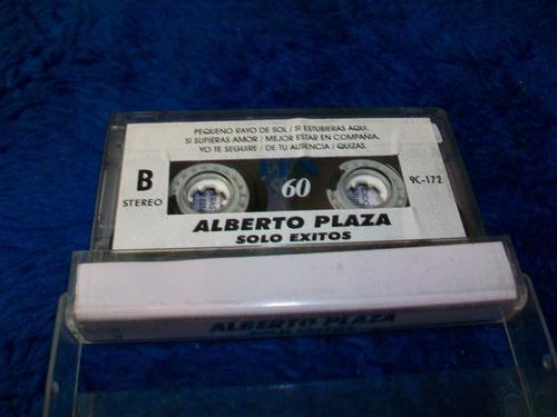 alberto plaza, música en cassette original, buen estado