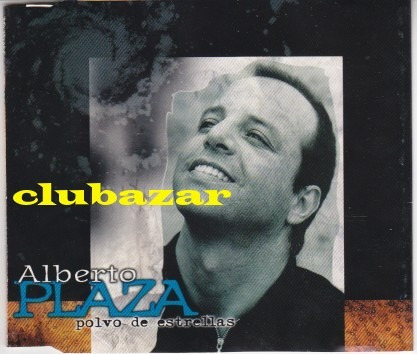 alberto plaza promo cd single polvo de estrellas 1998 chile
