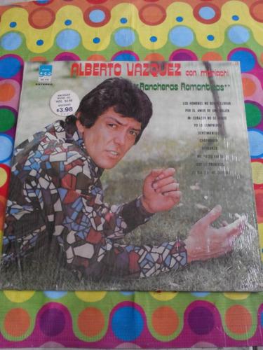 alberto vazquez lp rancheras romanticas 1975