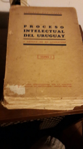 alberto zum felde proceso intelectual del uruguay