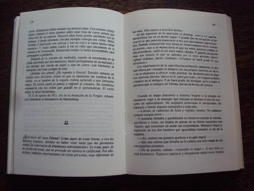 alberts. fatima. una novela de picaros y catolicos.