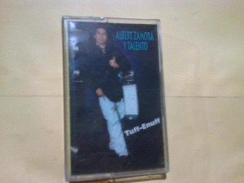alberyo zamora y talento audiocasette vintage nuevo