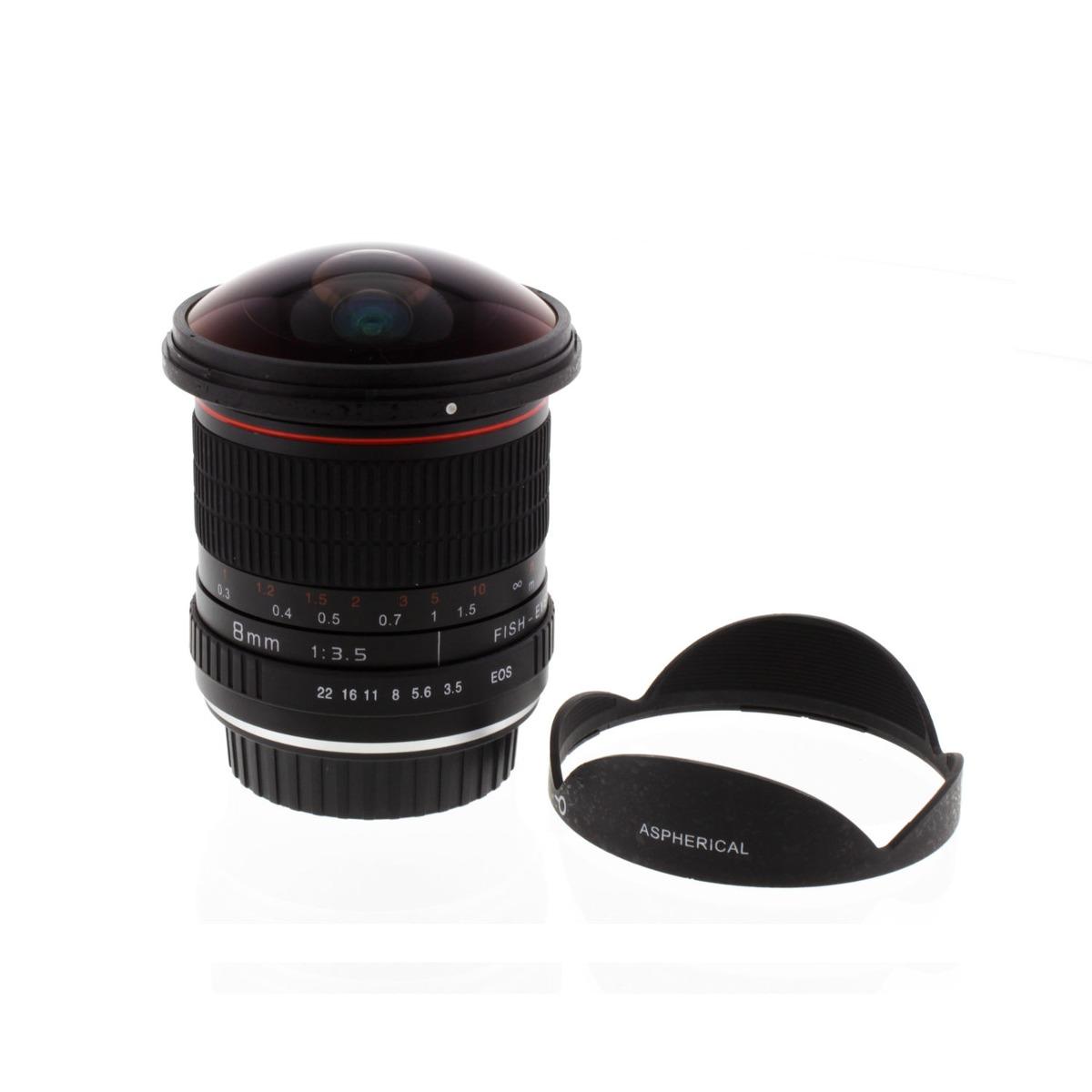 Albinar 8mm F/3.5 Lente Ojo De Pez Para Canon Eos 7 6 D 5 D ...
