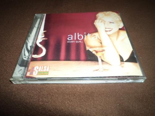 albita - cd album -  dicen que...  daa