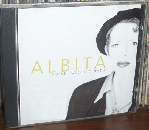 albita no se parece a nada cd 1a ed made in u.s.a. 1995  bvf