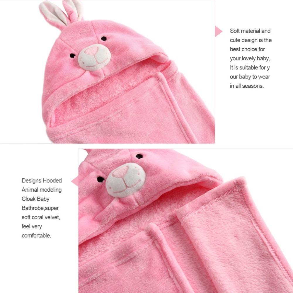Albornoz toalla conejo bebe ni o ni a ba o ducha capucha - Toallas infantiles personalizadas ...