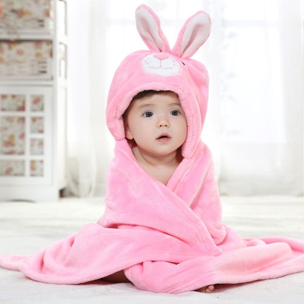 Albornoz toalla conejo bebe ni o ni a ba o ducha capucha en mercado libre - Albornoz nina ...