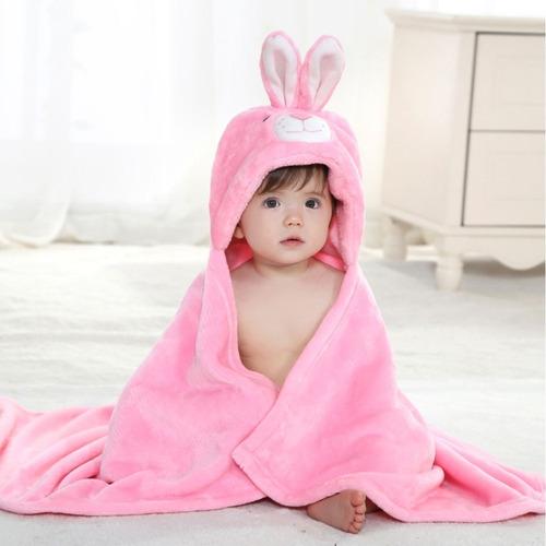 Albornoz toalla conejo bebe ni o ni a ba o ducha capucha - Toalla albornoz ...