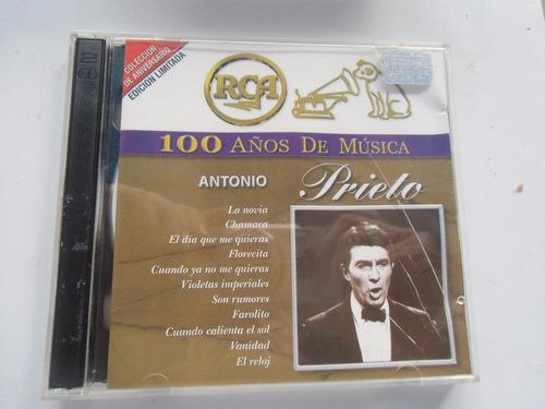 album 2 cds de antonio prieto originales importados