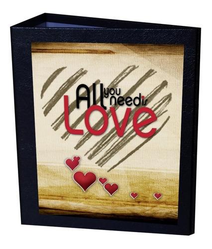 album all you need love 10x15 - 600 fotos + brinde especial