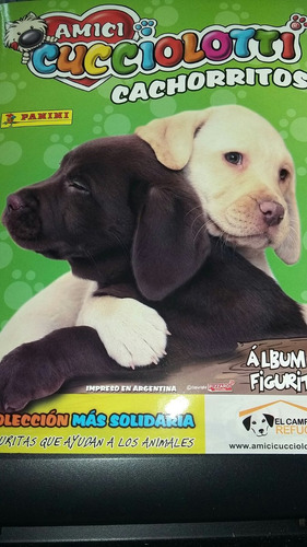 album amici cucciolotti completo las 492 figuritas a pegar