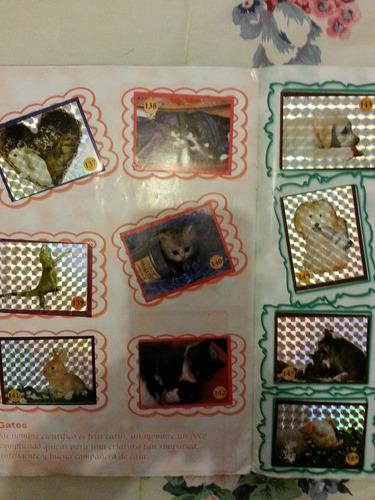 album animales exoticos de casa y selva