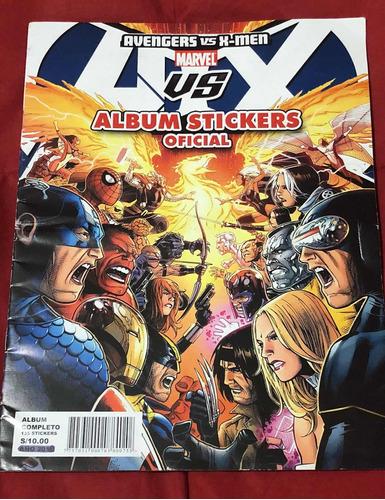 álbum avengers vs xmen