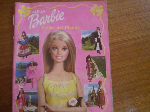 album barbie  trajes del mundo  navarrete s.a. 2001 (r688