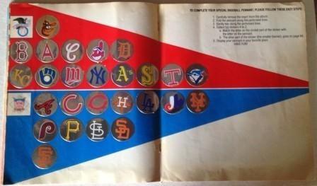 album baseball-88 panini usa 1988